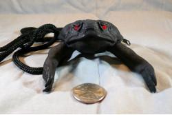 Black Goth Coin Purse