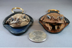 Cane Toad Head Key Fob