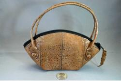 Cane Toad Leather Handbag