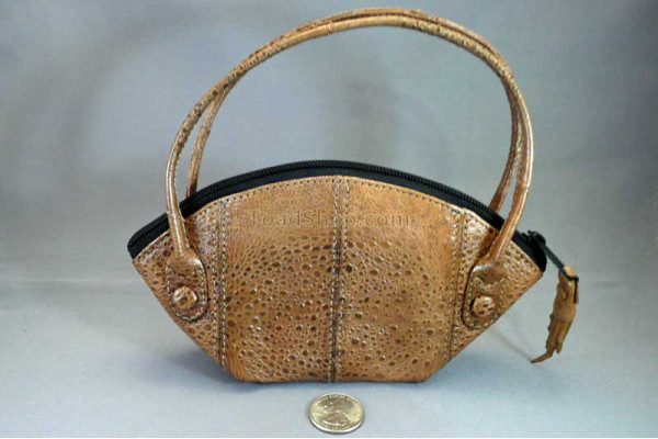 Cane Toad Leather Handbag