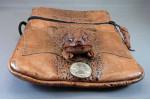 Cane Toad Leather Shoulder Bag