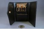 Cane Toad Leather Key Holder Case