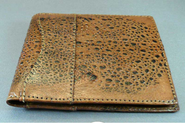 Cane Toad Leather Wallet