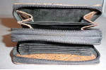 Cane Toad Card Case with 2 Zippers