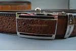 Cane Toad Leather Belt