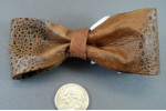 Cane Toad Leather Bow Tie